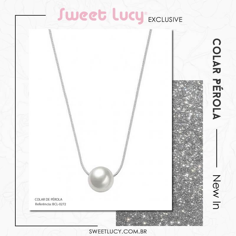 tipos de colares pérolas sweet lucy