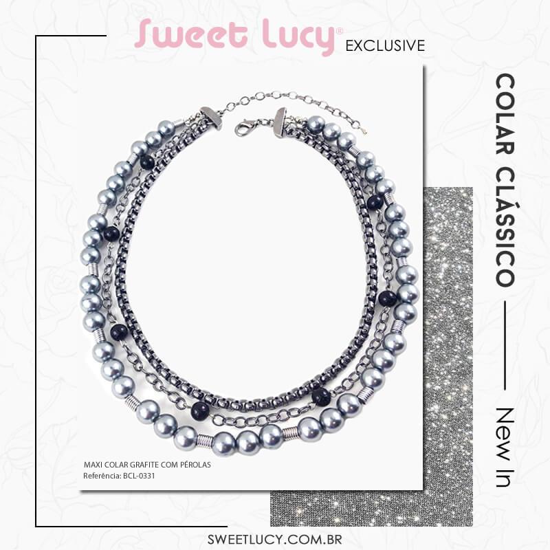 tipos de colares colar de perolas sweet lucy