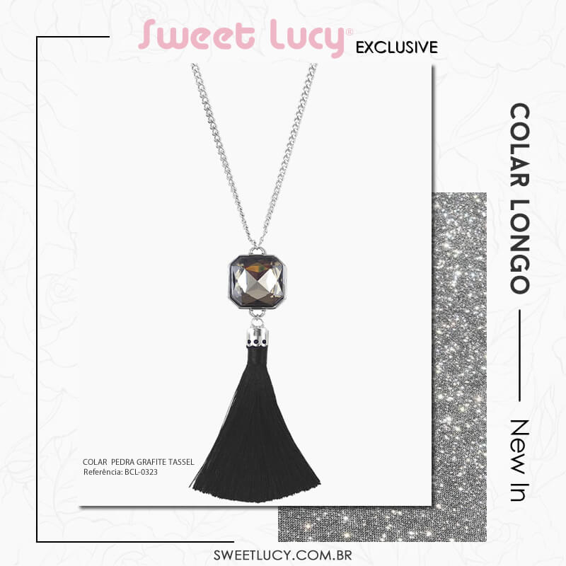 tipos de colares colar longo sweet lucy