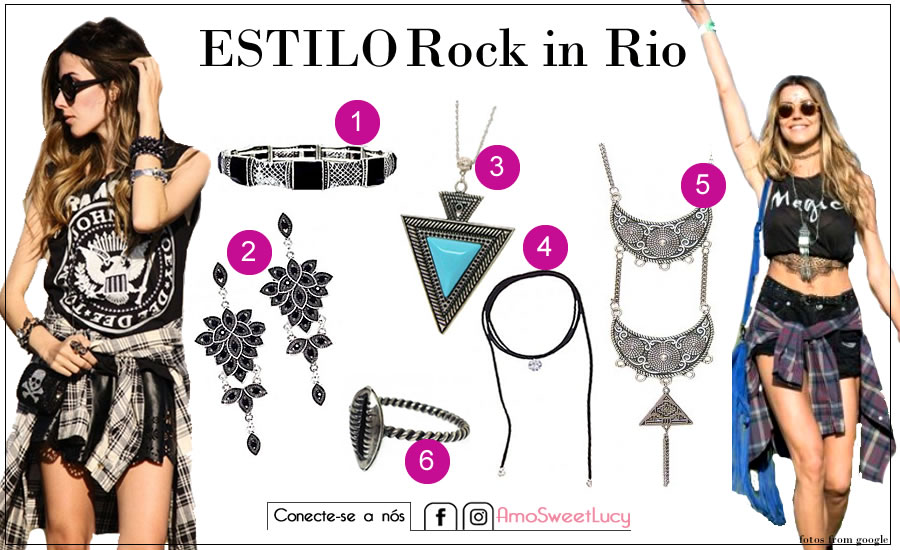 Looks e Acessórios para Rock in Rio 2017-Sweet Lucy
